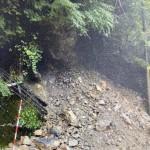 令和2年 代風14号による土砂崩れ等の影響による道路状況のお知らせ