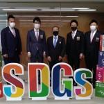 相模原青年会議所 飯塚理事長らが新型コロナウイルス感染症対策に関する提言をお持ちいただきました。