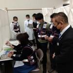 新型コロナウイルスワクチン集団接種会場運営訓練