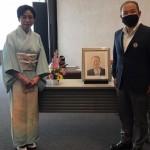 高城寛子先生の合気道七段昇段祝賀会(オンライン)にて、市合気道連盟会長として挨拶をさせていただきました。
